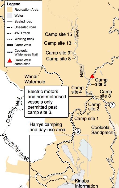 Noosa Everglades Upper Noosa River Camping